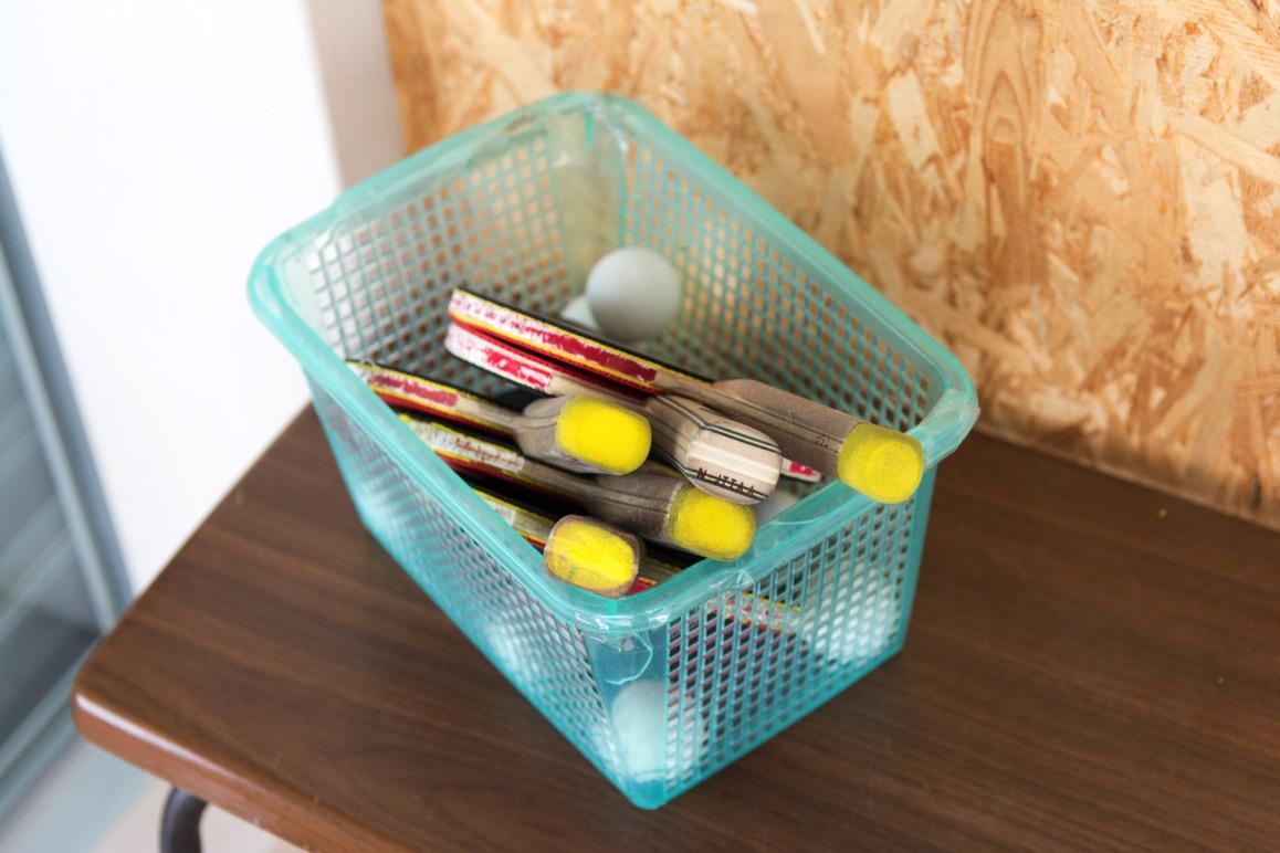 卓球の道具