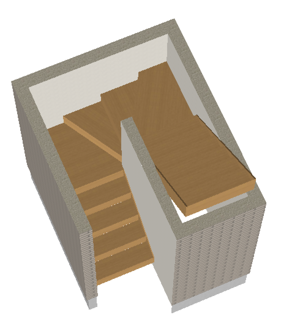折り返し階段2